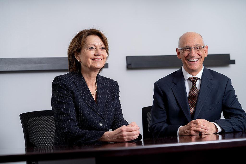 Joanne M. Conroy and Joseph Pepe